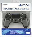 PlayStation 4 - DualShock 4 Wireless Controller, Steel Black (2018)