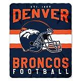 Offizielle NFL Denver Broncos Decke, Fleecedecke in 127 x 152 cm