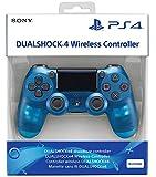 PlayStation 4 - DualShock 4 Wireless Controller, Blue Crystal