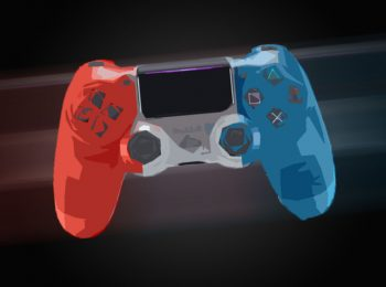 PS4 Crystal Controller